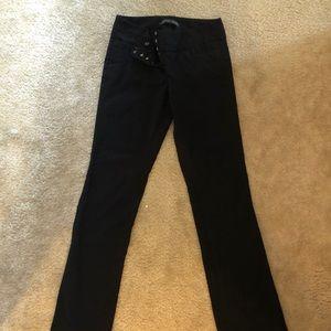 The limited women's black slacks worn once